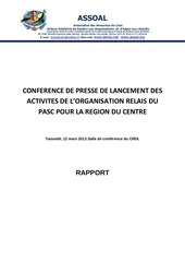 rapport conference de presse de lancement or pasc centre