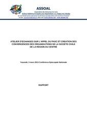 Fichier PDF rapport de l atelier d information et creation des convergences appel pasc