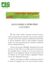 Fichier PDF alexandre et catay e