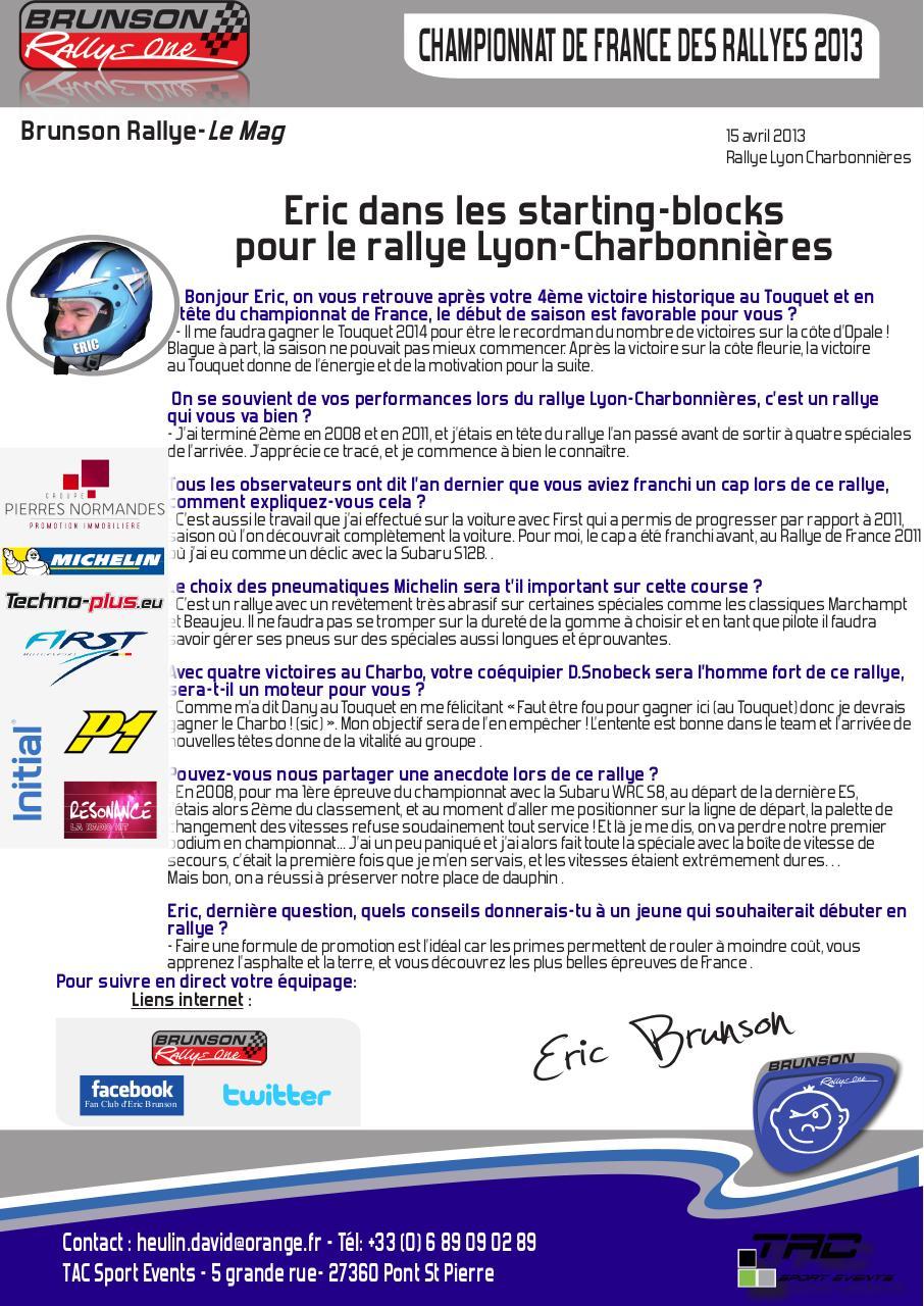 Aperçu Eric starting-blocks pour le Lyon-Charbonnières.pdf - Page 1/1