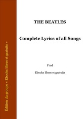 complete lyrics of all songs the beatles