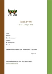 Fichier PDF inscription reglement kessa savon