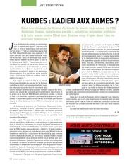 kurdes adieu aux armes