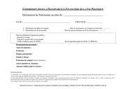 projet nouveau formulaire