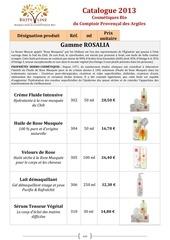 catalogue bioty line 2013 comptoir provencal des argiles