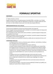formule sportive