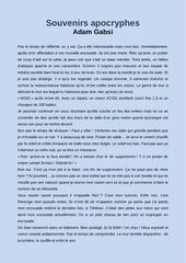 Fichier PDF souvenirs apocryphe de adam gabsi