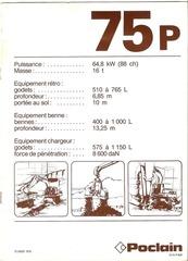poclain 75p pdf
