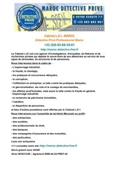 Fichier PDF detective maroc devis au 0033683883961