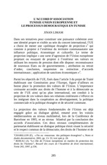 Fichier PDF l accord d association tunisie union europeenne et le processus democratique en tunisie