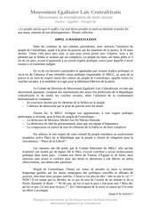 Fichier PDF appel a manifestation melc