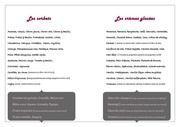 gamme des parfums 2013