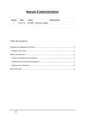manuel d administration
