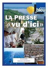 revue de presse mediametrie jan mars2013