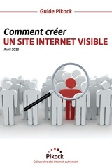 guide creation site internet visible