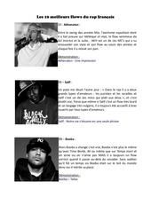 classement les 10 meilleurs flows du rap francais