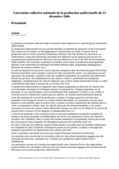 Fichier PDF production audiovisuelle
