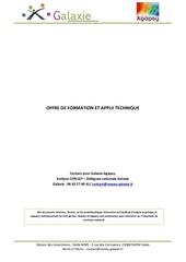 Fichier PDF of entreprises