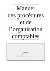 modele manuel des procedures
