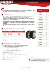 roues completes asc remorques