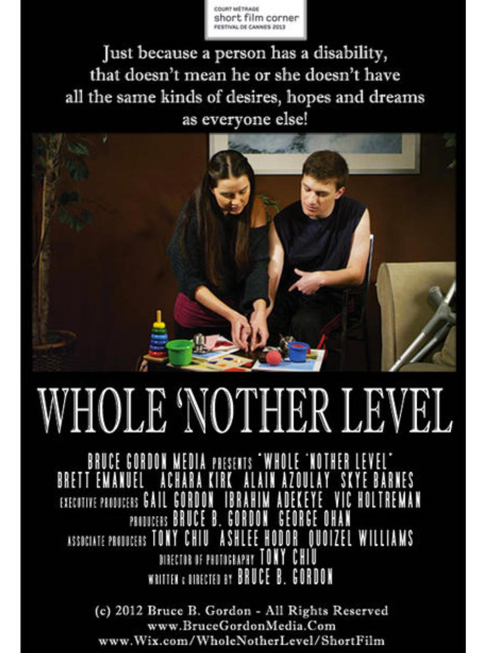 Press Kit - Whole 'Nother Level - Short Film Corner.pdf - page 1/26