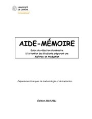 aidememoirema