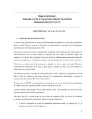 tdr seminaire evaluation tcp