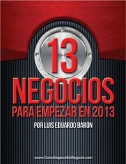 Fichier PDF 13 negocios 2013