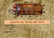 gazette des inities numero deux mai 2013