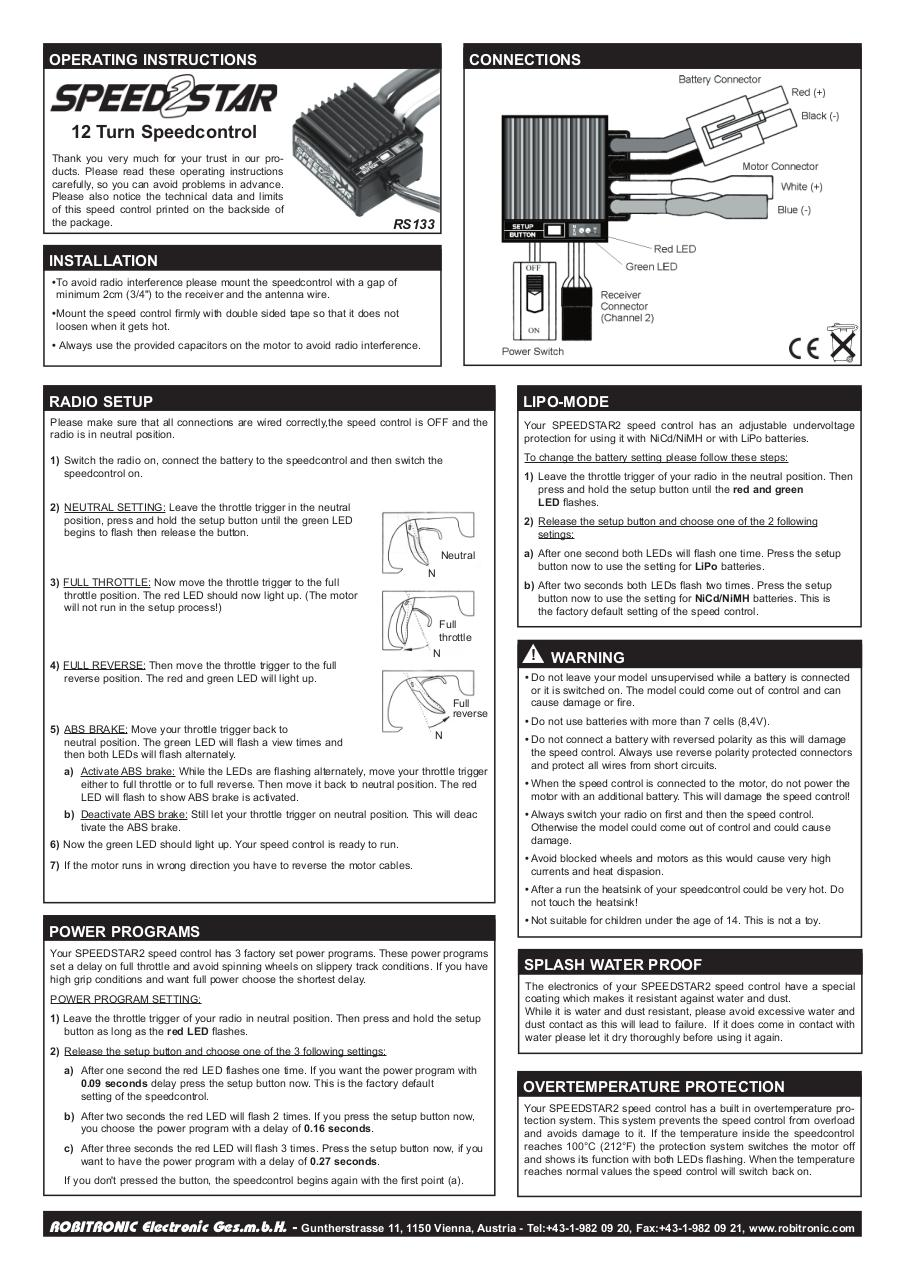 Aperçu du document Instruction Speedstar2.pdf - page 1/1