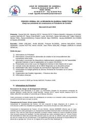 pv bureau directeur elargi 24 avril 2013