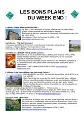 les bons plans du week end semaine n 18 2013