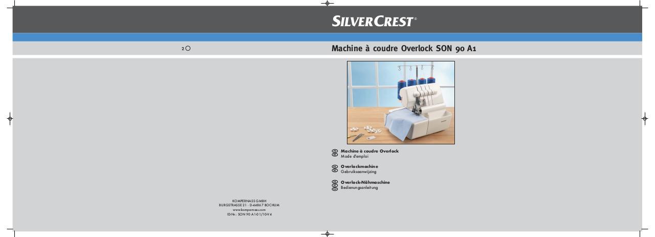Notice Silvercrest Son 90 A1 Fichier Pdf