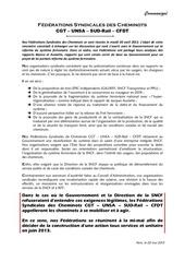 2013 05 02 communique unitaire reforme systeme ferroviaire