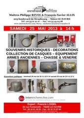 francis loisel expert armes anciennes vente 25 mai 2013