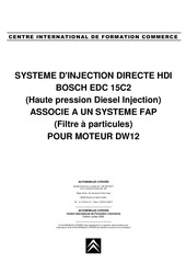 Fichier PDF injection hdi edc 15 c2 fap dw12