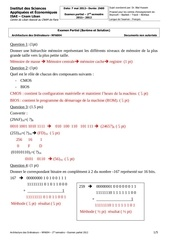 nfa004 partiel 2012 corrige
