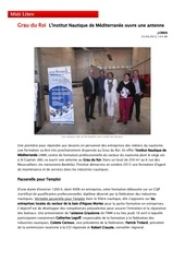 r crauste institut nautique mediterranee