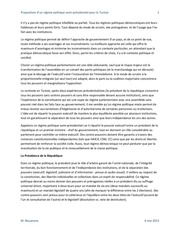 tunisie regime politique semi presidentiel 6mai2013