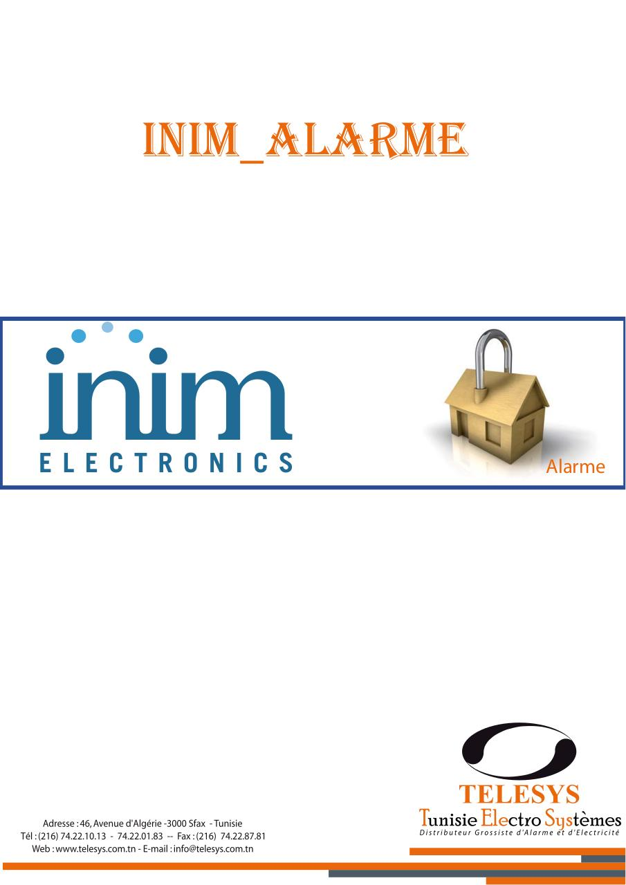 Catalogue inim Alarme 2013.pdf - page 1/8