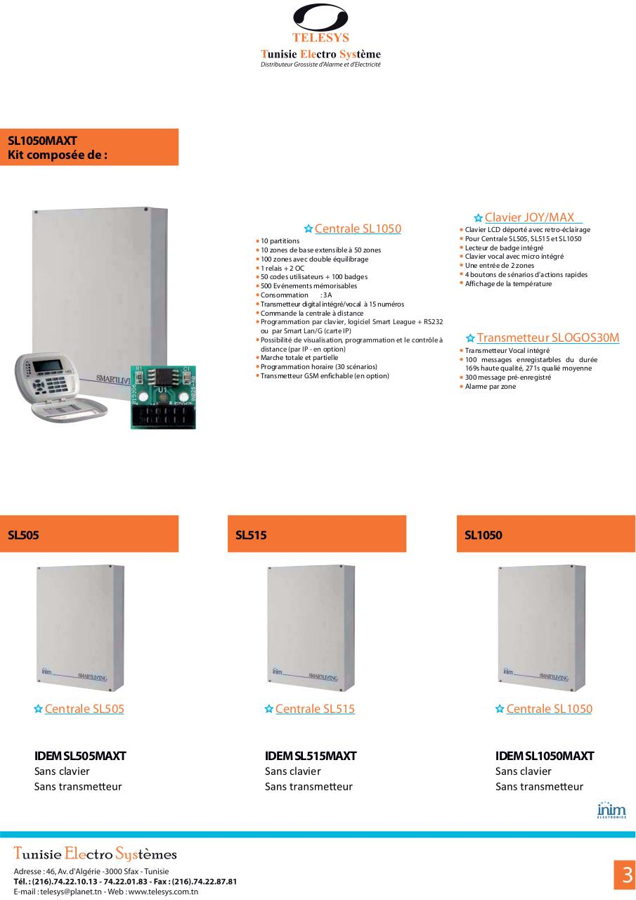 Catalogue inim Alarme 2013.pdf - page 3/8