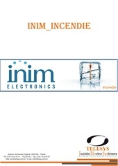 catalogue inim incendie 2013