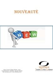catalogue nouveaute 2013