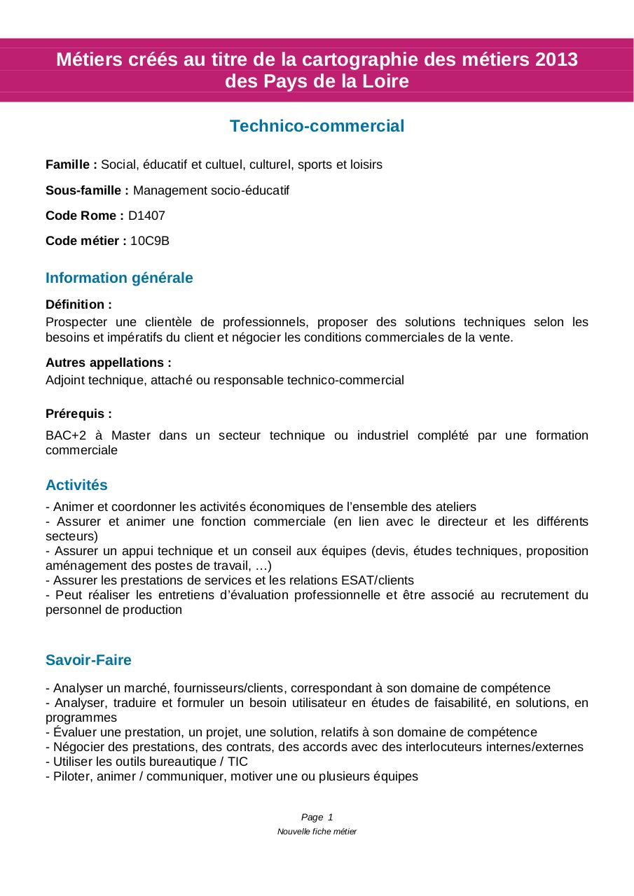 Technico commercial par bjarneau - Fichier PDF