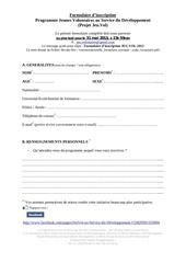 jeuvol formulaire
