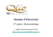 Fichier PDF cours electricite intro