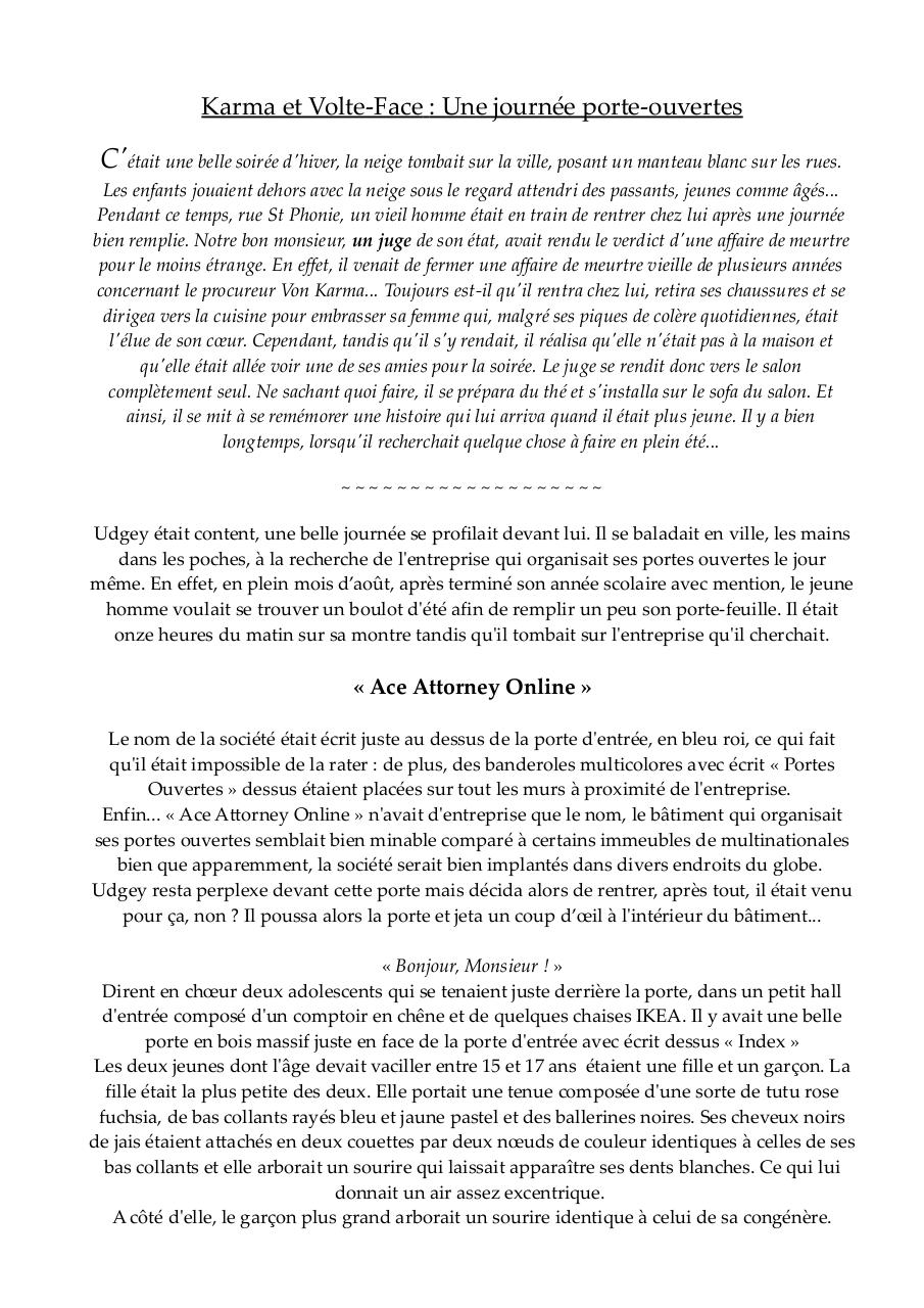 Aperçu du document Karma et Volte Face.pdf - page 1/8