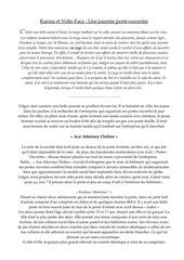 Fichier PDF karma et volte face