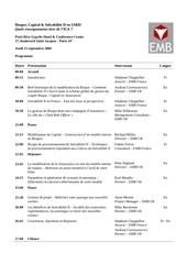 programme seminaire 1