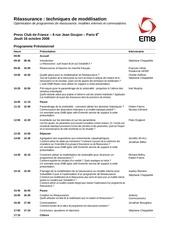 programme seminaire 6